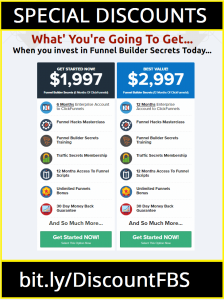 Clickfunnels Price Table